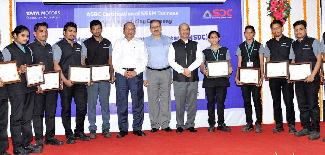 Tata Motors ASDC Automotive Skills