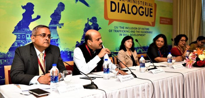 Inter-ministerial dialogue held to discuss skilling of trafficking survivors