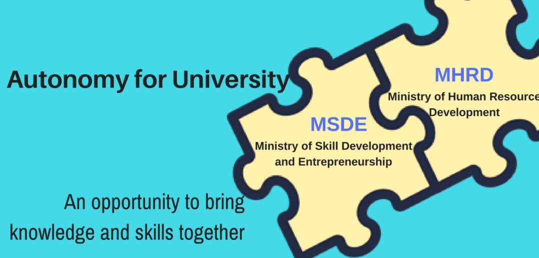 University Autonomy MHRD MSDE