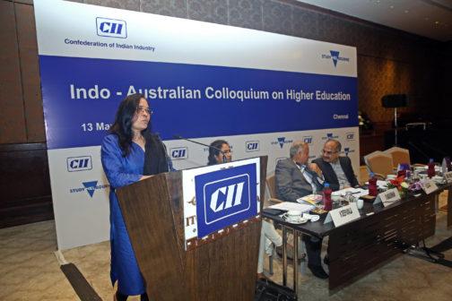Indo Australian collquium education Madhuri Dubey