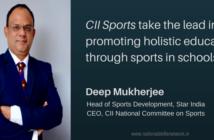 CII Sports holistic education Deep Mukherjee