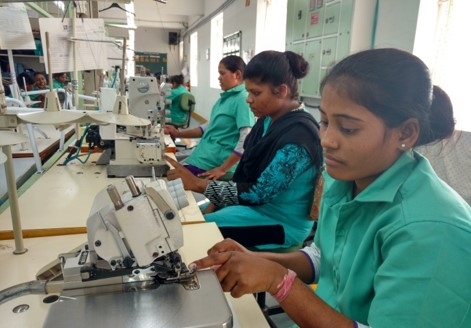 ILFS SMO trainees at Anugrah fashion