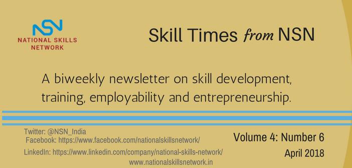 Skill Development News Digest April 1- 2018