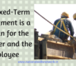Fixed term employment