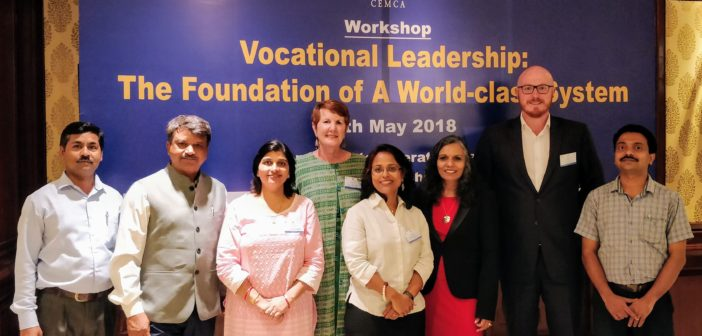 QSEC Australia and CEMCA jointly conduct vocational leadership workshop