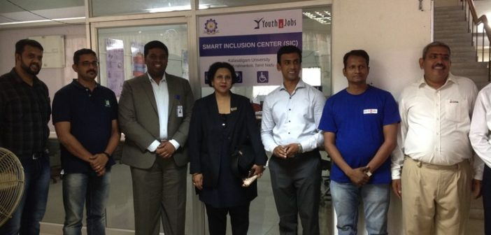 Youth4Jobs and Kalasalingam University jointly launch Smart Inclusion Center