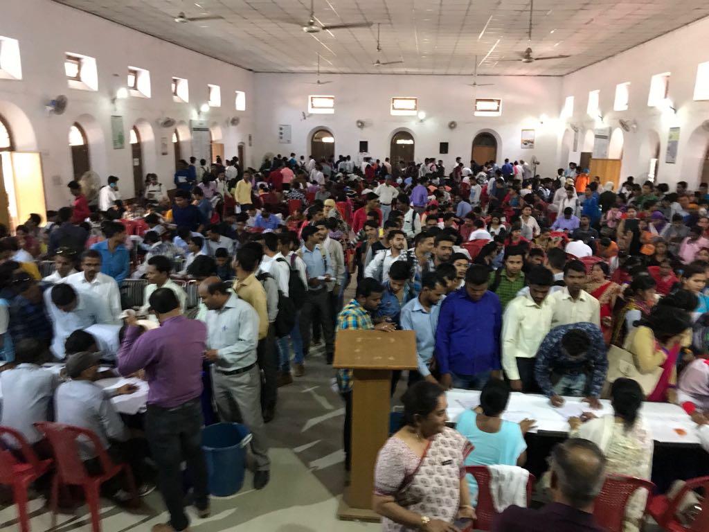 THSC job fair Jabalpur