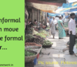 informal to formal sector
