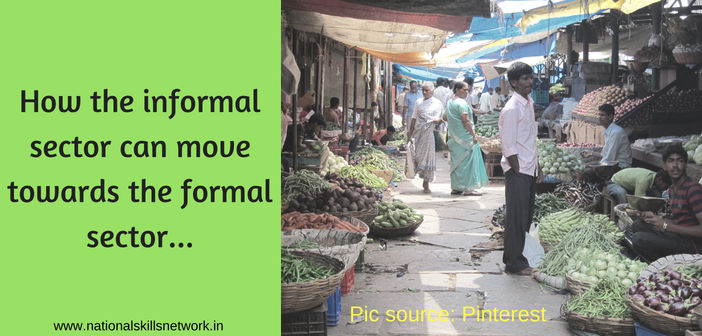 informal to formal sector