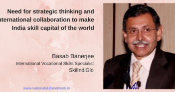 Basab Banerjee SkilIndiGlo