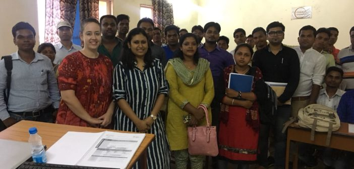 Launch of International Training of Trainers programs in Chhattisgarh through tripartite arrangement