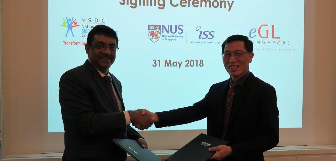 NUS Institute Singapore NSDC MoU