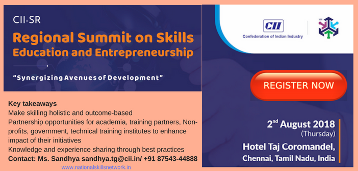 CII SR Regional Summit on Skills