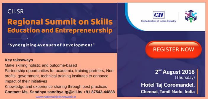 CII SR Regional Summit on Skills