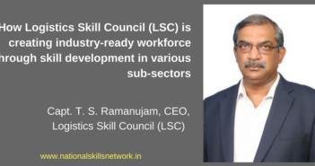 Logistics Skill Council Capt Ramanujam CEO