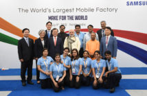 Samsung largest facility in Noida