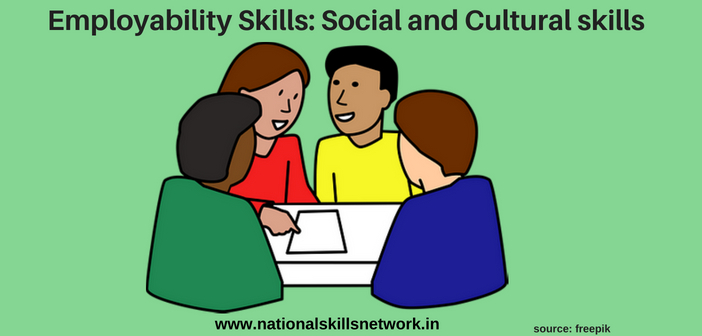 social and cultural skills for employability