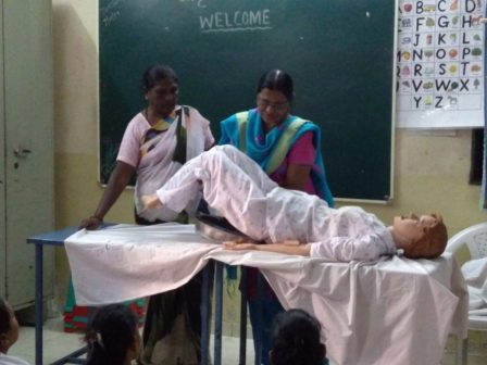 Jagruti Nurses training