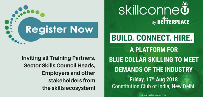 SkillConnect: A platform for blue-collar skilling to meet the demands of the industry