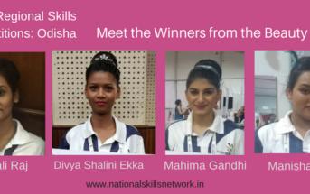 Skills Competition Odisha Beauty Winners