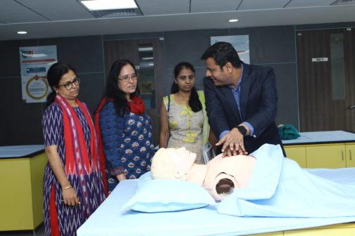 Apollo MedSkills Healthcare training