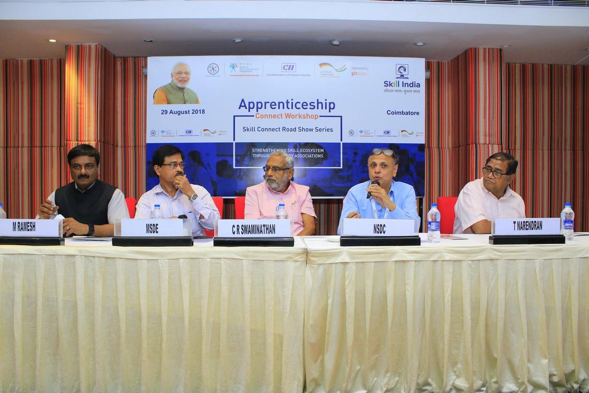 CII GIZ NSDC apprenticeships Coimbatore