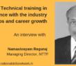 Interview Namasivayam Reguraj NTTF
