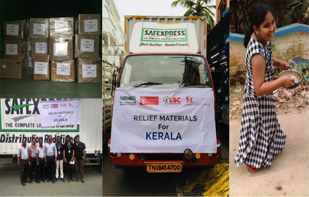 Logistics Sector flood relief