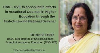 TISS SVE Vocational Seminar Neela Dabir