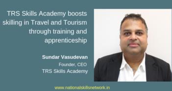 TRS Skills Academy Sundar Vasudevan CEO