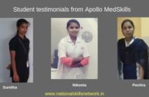 Testimonials Apollo Medskills