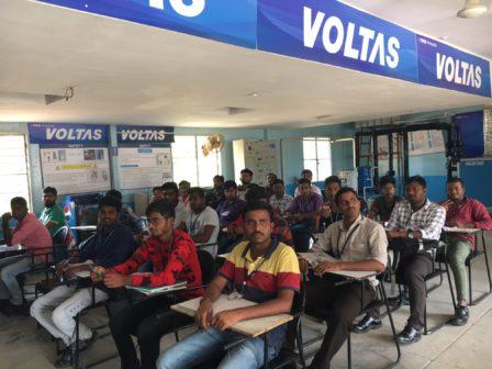 GMRVF Skill development VOLTAS