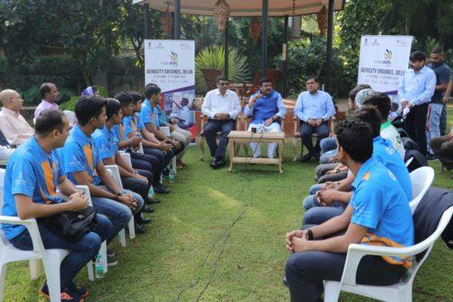Interaction with India Skills Winners Odisha 1