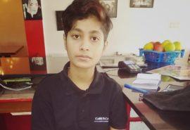 Karishma ITI student