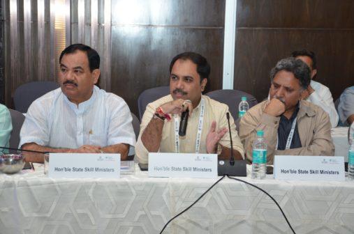 State Skill Ministers IndiaSkills2018-1