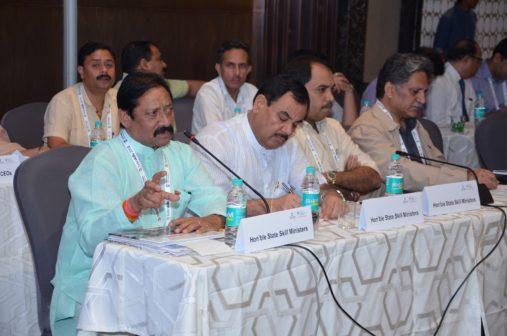 State Skill Ministers IndiaSkills2018