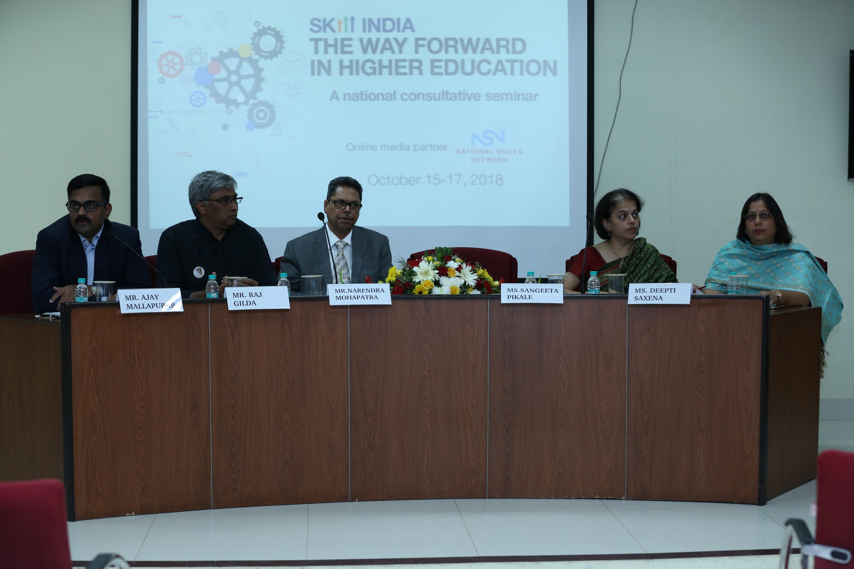 NSDC healthcare sector at skill seminar