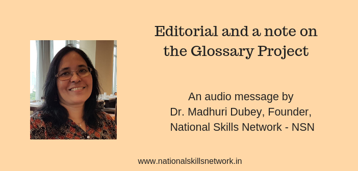 Editorial Glossary project