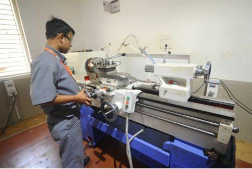 Turning Operation with Lathe Machine
