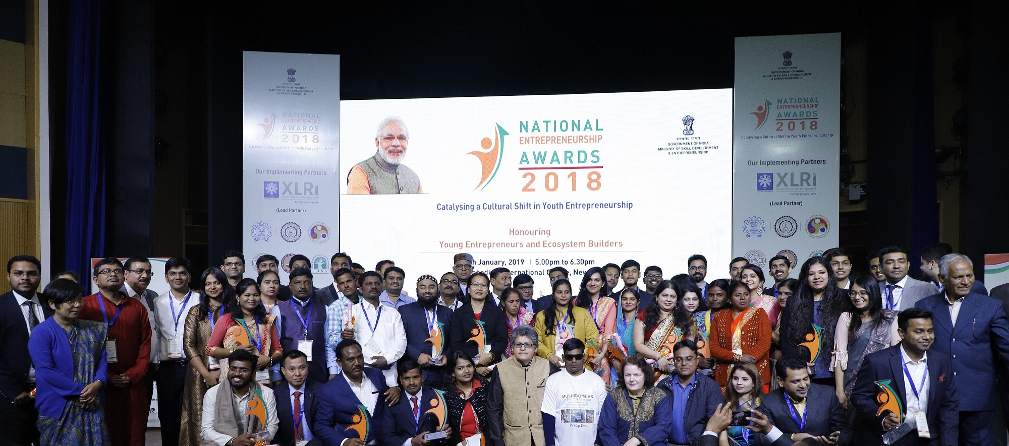 National Entrepreneurship Awards 2018 winners