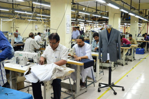 Raymonds tailoring skills center