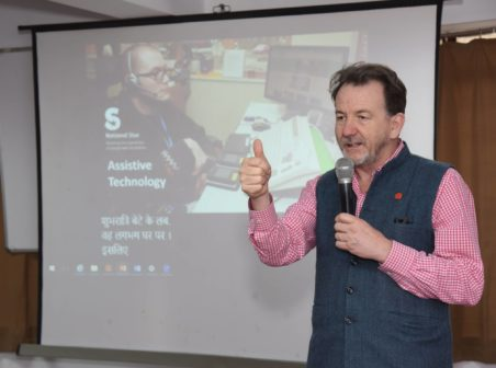 DFID Assistive technology training