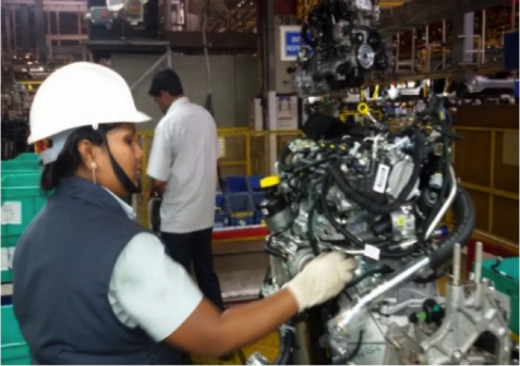 tata motors automotive women