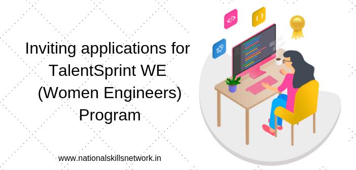 TalentSprint WE (Women Engineers) Program