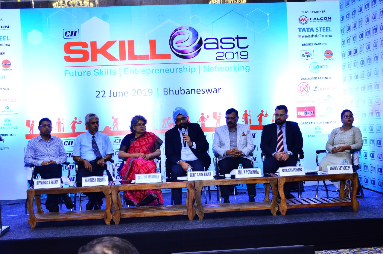Entrepreneurship panel CII Skill East Summit 2019