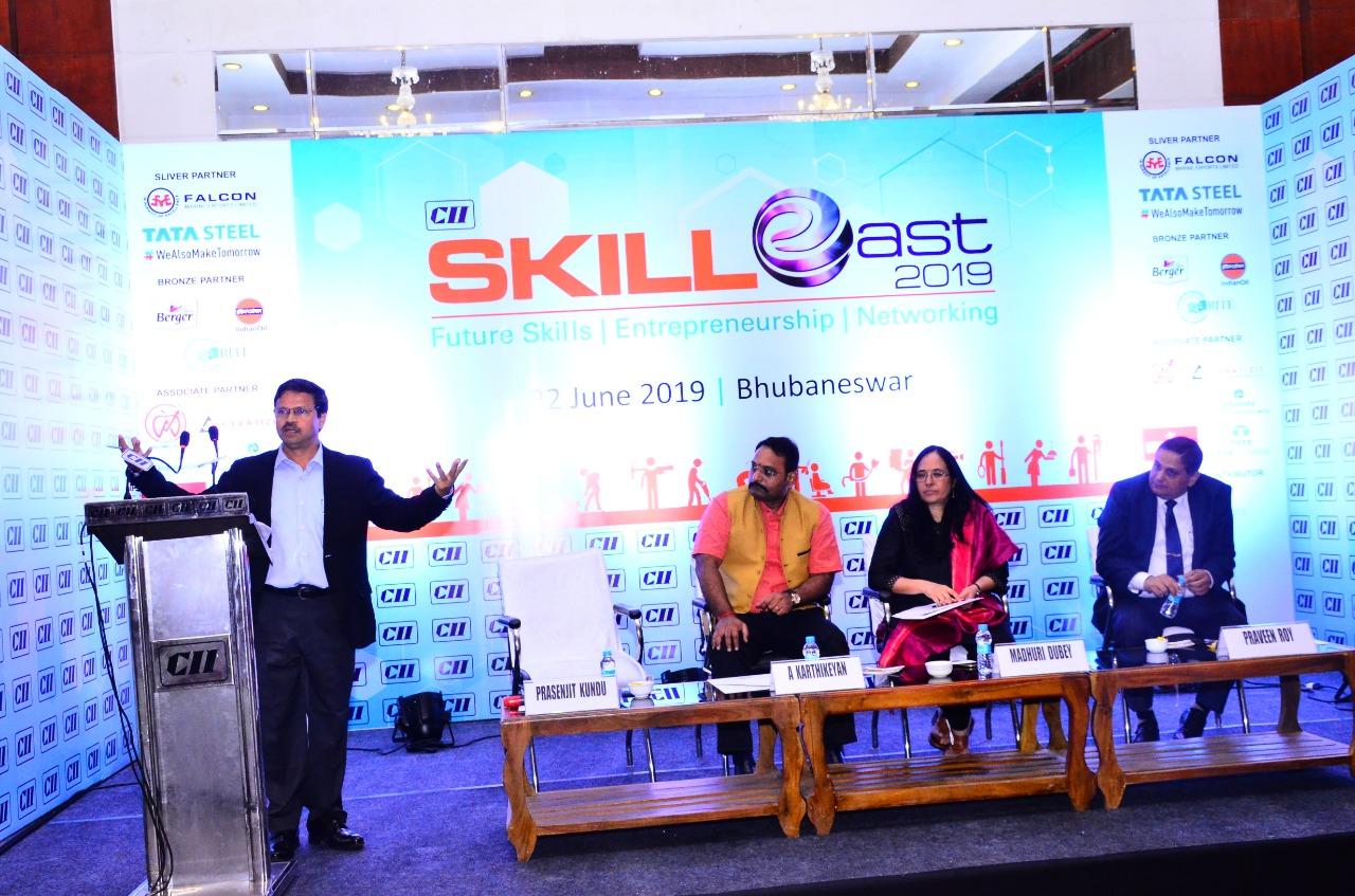 Panel discussion Global Skills CII Skill East 2019