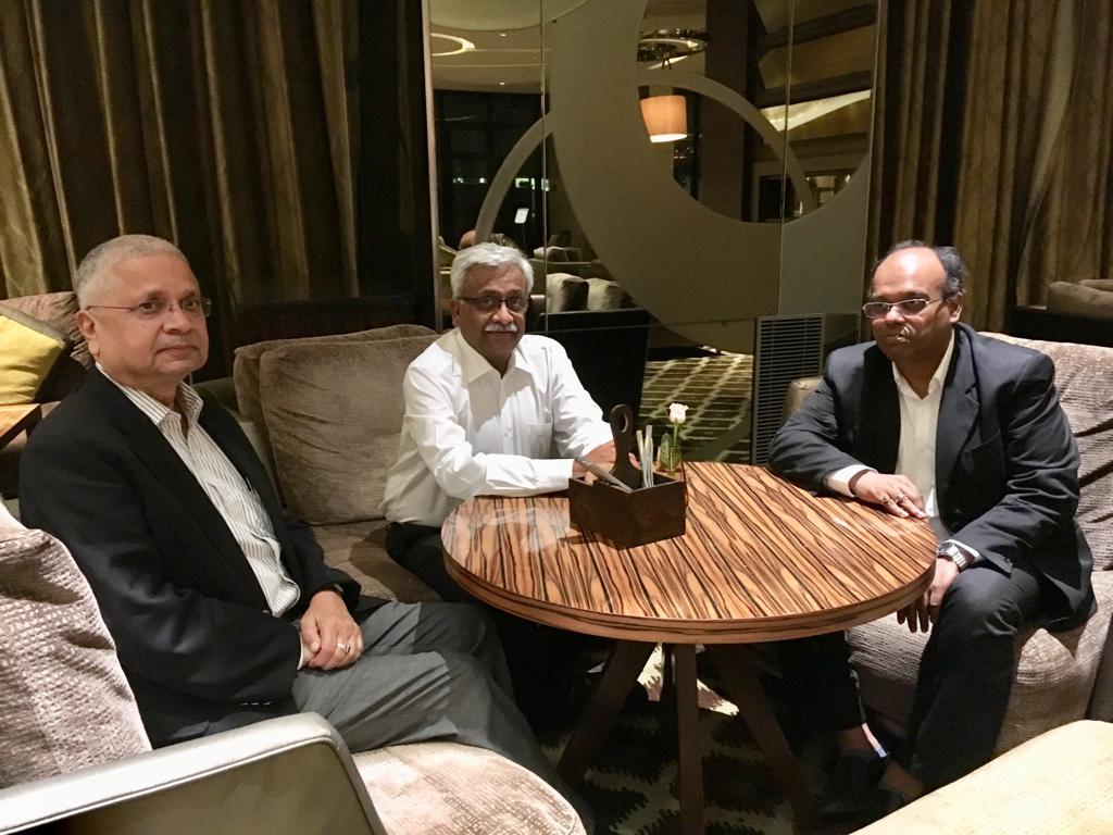 Nikunj Sanghi, Raman kumar Sharma, Arindam Lahiri from ASDC