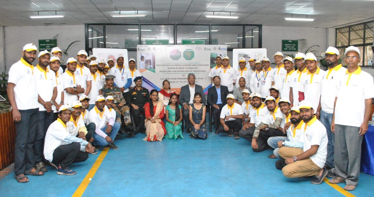 RSDC partners with Army Base Workshop for Saamarth