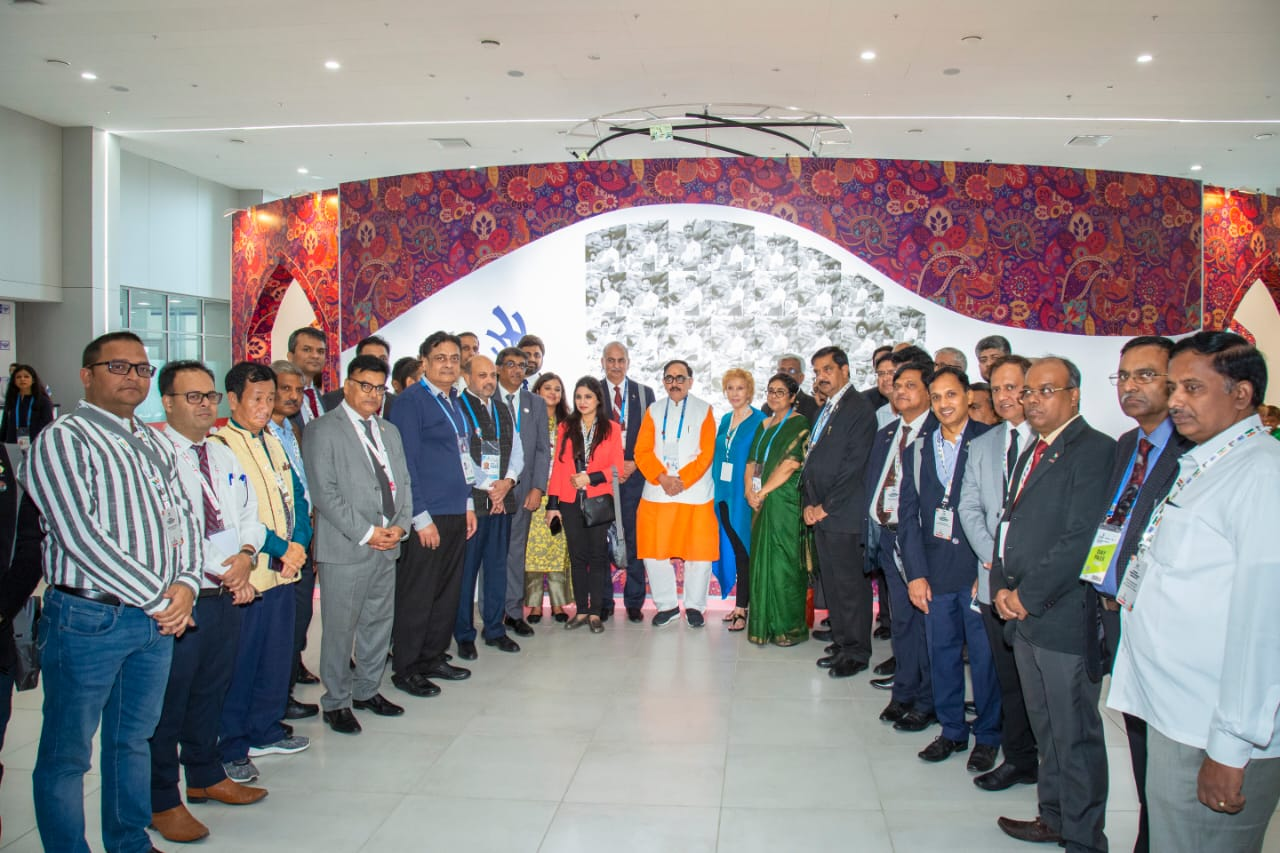Dr. Mahendra Nath Pandey -India as the next skilling hub at Ministers' Summit during WorldSkills Competition 2019