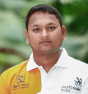 Govind Kumar Sonkar - WorldSkills 2019 participant